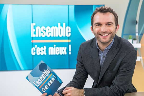"""Mickael Potot présente l'émission quotidienne """"Ensemble c'est mieux !""""du lundi au vendredi à 10h50 à partir du 7 janvier 2019."""