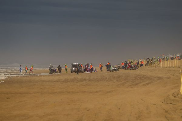 L'accident est survenu vers 13h, pendant la course de quads.