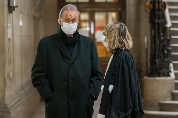 Le maire de Draveil lors de son procès à la cour d'Appel de Paris le 28 janvier.