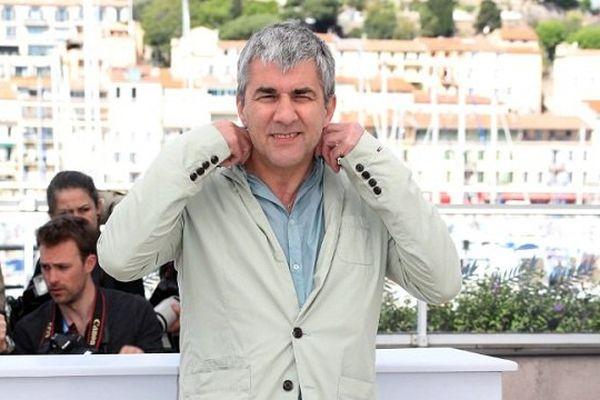 Alain Guiraudie, sur la croisette, le 12 mai 2016.