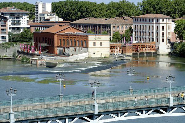 quartier du Bazacle à Toulouse ou vivent les musiciens