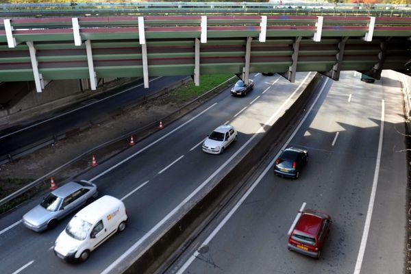 L'accident a eu lieu vers 5 heures du matin au Nord-est de la rocade de Toulouse