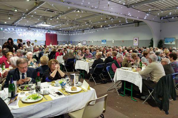 Près de 2000 personnes ont participé aux deux repas des seniors les