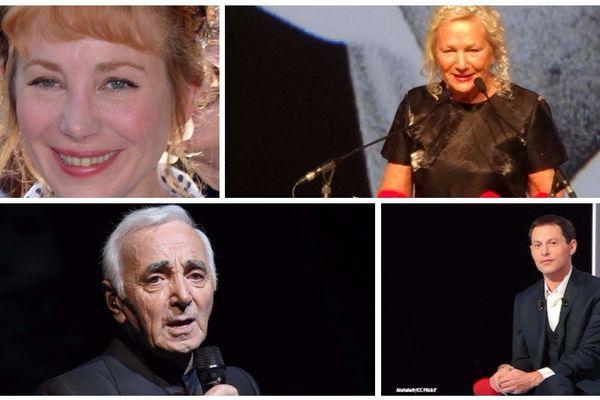 Julie Depardieu, Agnès B, Charles Aznavour, Marc-Olivier Fogiel