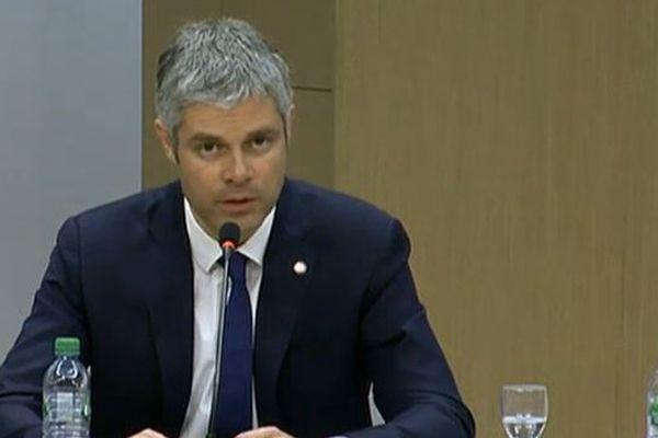 Laurent Wauquiez lors de son discours
