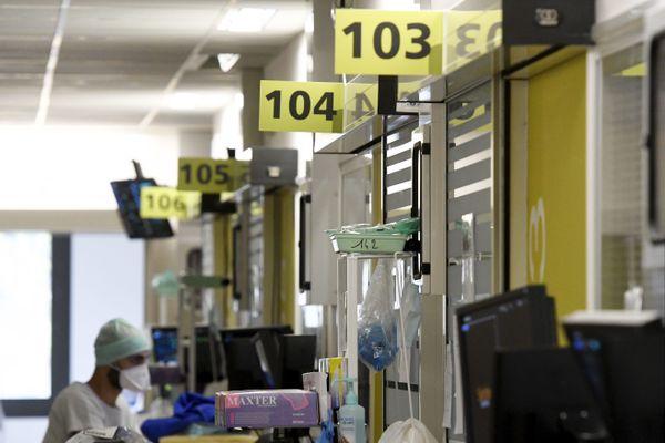 L'hôpital Purpan de Toulouse au plus fort de l'épidémie covid