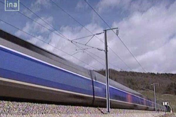 Le TGV Sud Est circule depuis 1981.