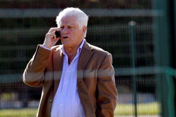 L'homme d'affaires Marcel Salerno, 74 ans, président du club de football d'Arles-Avignon.