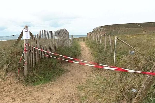 Une plage temporairement fermée après la découverte de ballots de cocaïne.