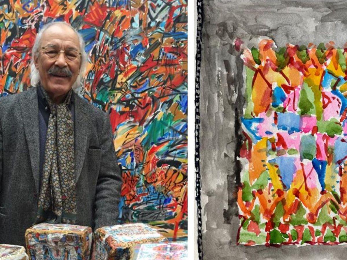 Tourcoing Le Peintre Franco Algerien Mahjoub Ben Bella Est Mort