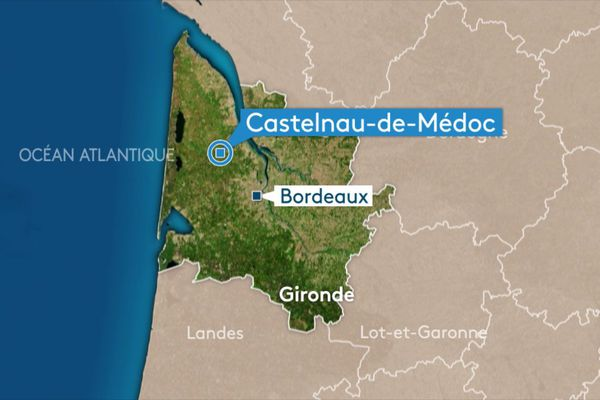 Castelnau-de-Médoc en  Gironde