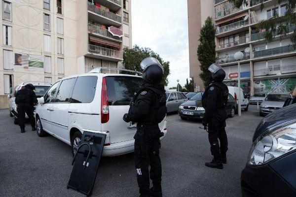 Arrestations dans un quartier de Nice ce 24 juin 2014