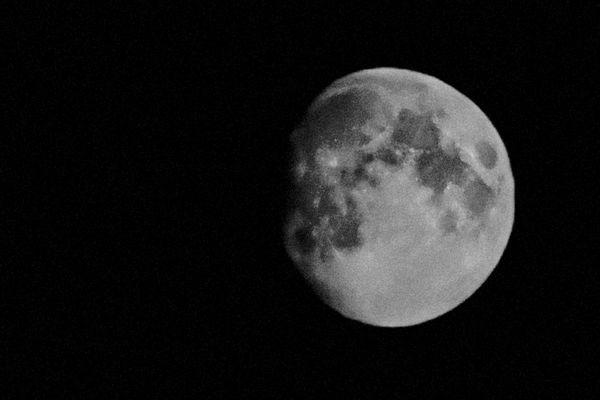 Une photographie de la Lune