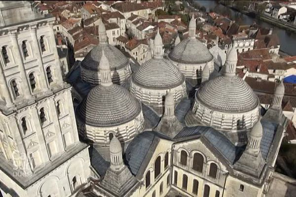 Les coupoles de la Cathédrale St Front