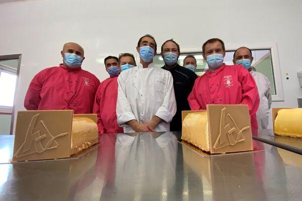 Les artisans pâtissiers de Haute-Vienne et leur bûche de Noël, modèle 2020.