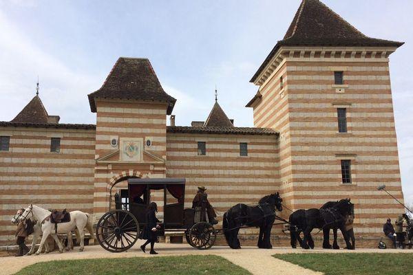 Le château de Laréole en Haute-Garonne a été choisi pour figurer le château de Bonrepos Riquet, demeure de l'inventeur du canal du Midi.