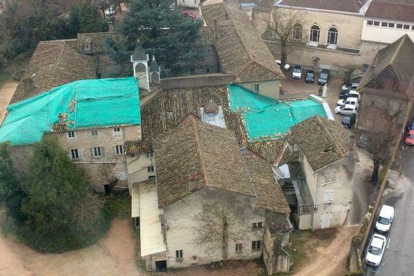 Le couvent de la Visitation est situé situé au cœur du centre-ville historique de Mâcon, en Saône-et-Loire.