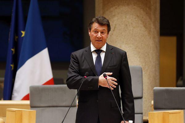 Christian Estrosi a été élu président du conseil régional PACA le 18 décembre 2015