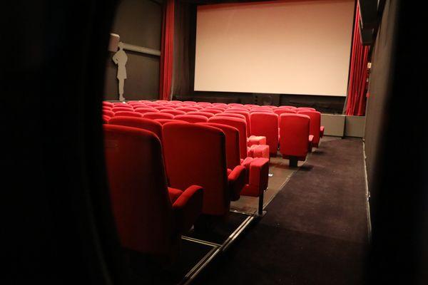 Une salle de cinéma. (Image d'illustration).
