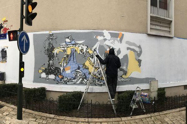 Trois jours de graff pour investir le Mur d'Orléans