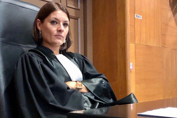 Stéphanie Pradelle, la vice-procureure de Bastia, dont les propos ont mis le feu aux poudres