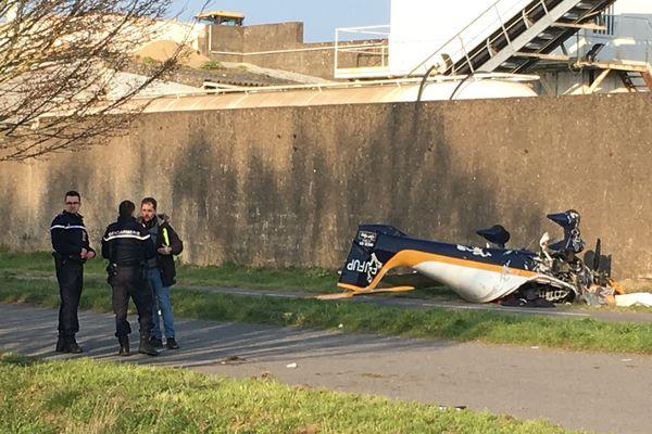 Le pilote de l'ULM n'a pas survécu à l'accident dont il a été victime ce samedi à Trignac (44)