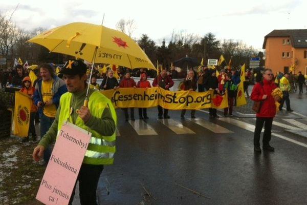 Rassemblement des anti-nucléaires dimanche 10 mars