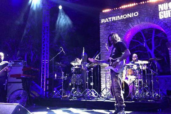 Eric Gales aux Nuits de la guitare de Patrimonio, le 20 juillet 2018.