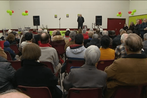 Les anti-GDE réunis ce samedi 7 janvier 2017 à Surdon