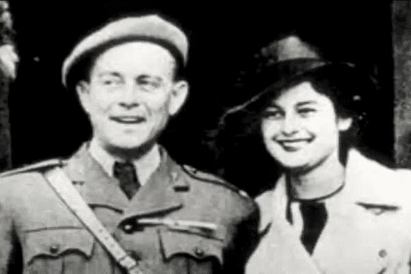 Violette Szabo et son époux en 1940