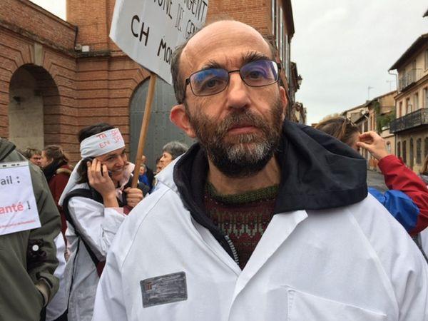 Le docteur Philippe Martinez est neurologue à l'hôpital de Montauban.