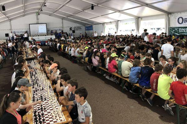 Ils sont plus de 3.000 élèves venus de toute la Corse, et même d'au-delà, pour confronter leurs talents