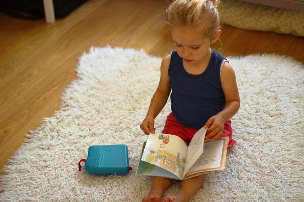 Bookinou, invention lyonnaise, a pour but de redonner l'envie des livres aux tout-petits