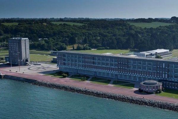 L'école navale de Lanvéoc dans le Finistère