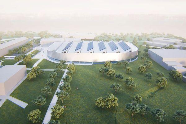 Le futur stade couvert d'athlétisme de Limoges sera situé dans le quartier St Lazare