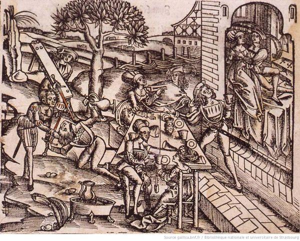 """""""Maison de prostitution pour clientèle aisée aux portes de Strasbourg"""", 1535"""