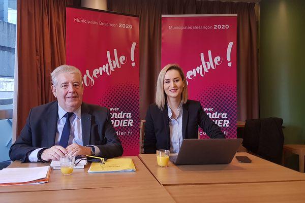 """Jean-Louis Fousseret et Alexandra Cordier lancent la liste """"Ensemble !"""""""