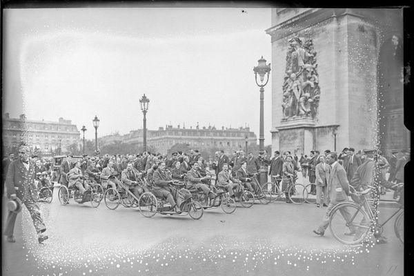 Manifestation d'anciens combattants en 1926
