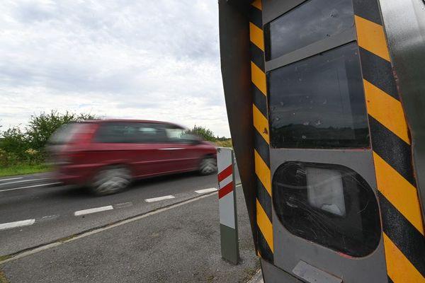 Dans le Puy-de-Dôme, les grands excès de vitesse sont en nette augmentation par rapport à l'an dernier.