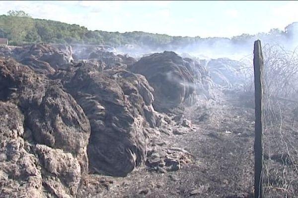 Incendies à répétition à Mesland (Loir-et-Cher) : l'hypothèse de la présence d'un pyromane se dessine