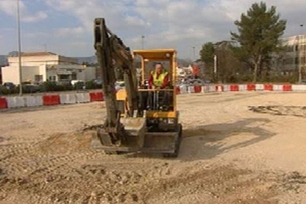 Les travaux de construction du tramway se feront en trois phases.