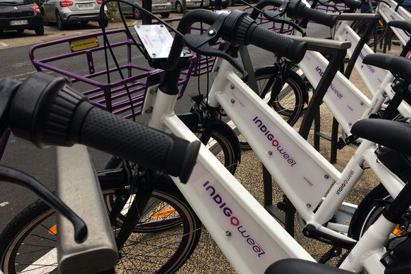 Vélos en libre-service à Tours