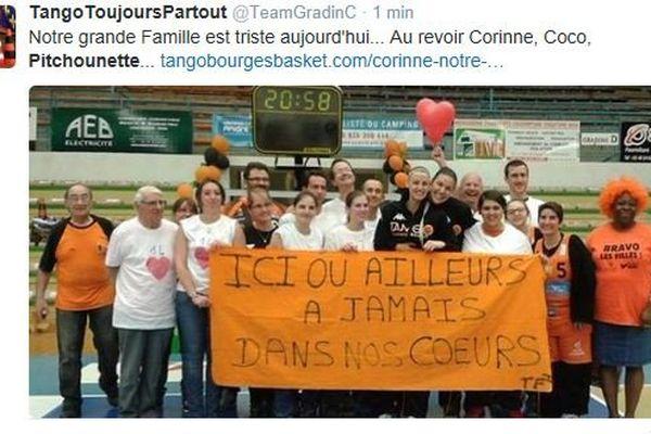 Les supporters rendent hommage à la mascotte du Bourges Basket Pitchounette sur les réseaux sociaux