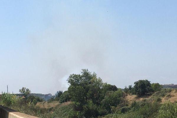 Deux groupes d'intervention de lutte contre les feux de forêts ainsi que des moyens aériens sont mobilisés - 21.07.20