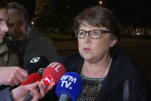 Martine Aubry s'est exprimée à la sortie de la Préfecture de Lille.