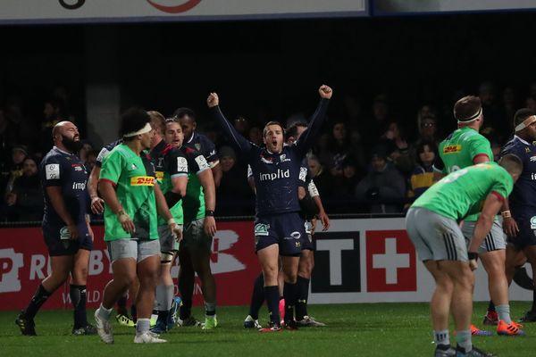 Lors du match aller, le 16 novembre 2019, à Clermont-Ferrand, l'ASM Clermont Auvergne l'avait largement emporté face aux Harlequins sur le score de 53 à 21.