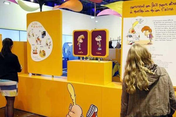 """L'exposition """"Zizi sexuel l'expo"""", qui avait attiré 340.000 visiteurs à Paris en 2007, est de retour à la Cité des sciences jusqu'au 2 août."""