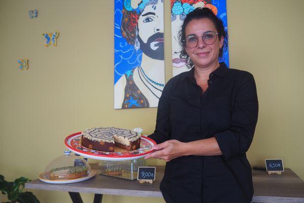 A Reims, la pâtissière sicilienne Gisa Conti s'inspire de son île natale pour ses créations.