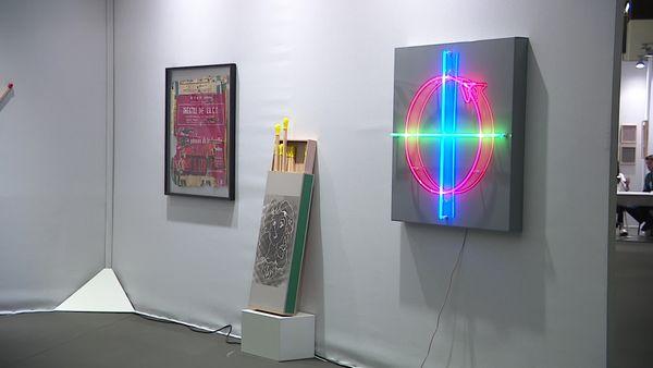 PJ gallery stand at ART FAIR DIJON