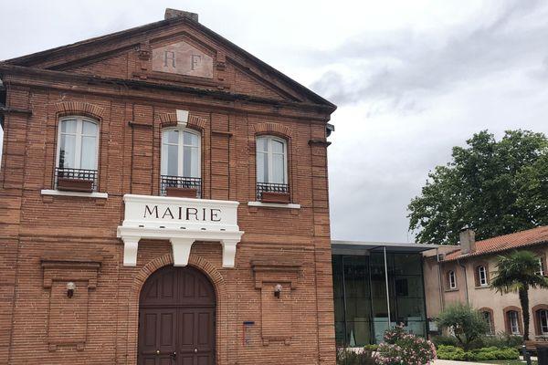 La mairie de Fenouillet